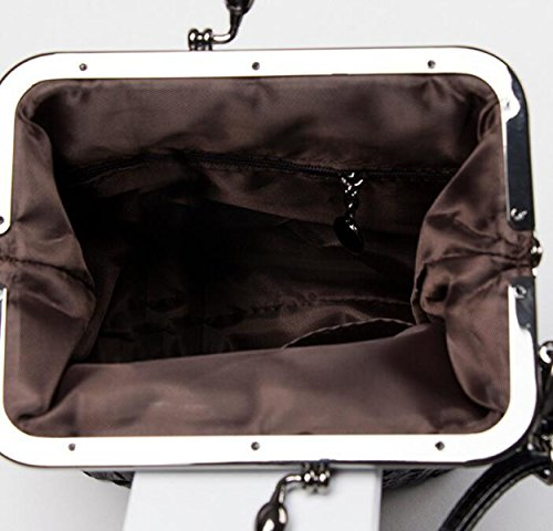 Art Und Weisedamen Schultern Diagonale Pakethandtasche Einfaches Wildes Purple