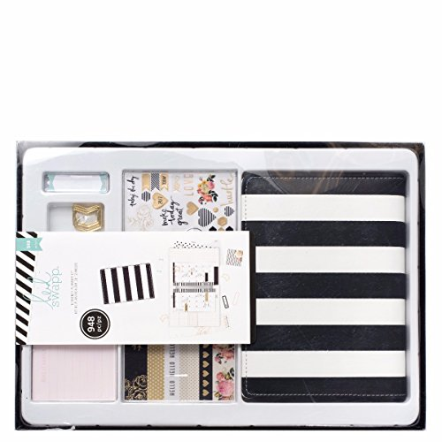 Heidi Swapp Memory Planner kit Black and White - American Crafts Metallic Marker