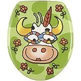 Wenko 17616100 Abattant Crazy Vache