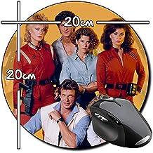 V Invasion Extraterrestre Marc Singer Faye Grant Jane Badler Alfombrilla Redonda Round Mousepad PC