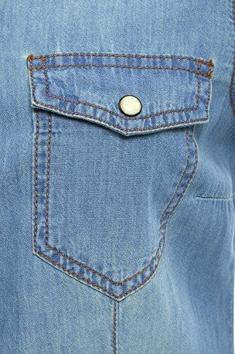 SS7 Neuer Frauen Jeanshemd, Size 8 - 14 Denim Blau