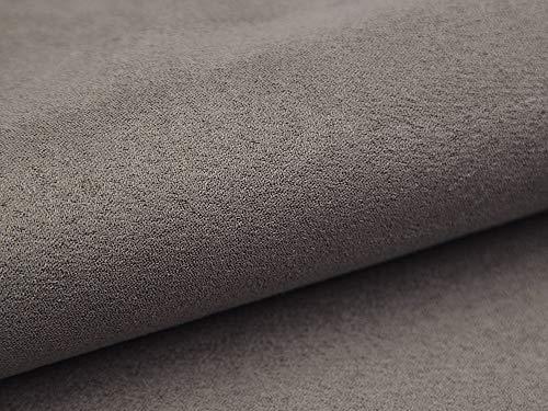 Lederkonzept Alcala Stoff Meterware Wildleder-Imitat Velours Microfaser Möbelstoff Polsterstoff 22 Dunkelgrau - Polyester Wildleder Stuhl