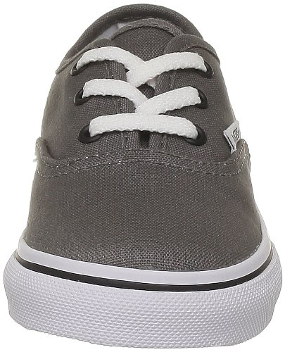 Vans T Authentic, Baskets mode mixte bébé Gris (Pewter/Black)
