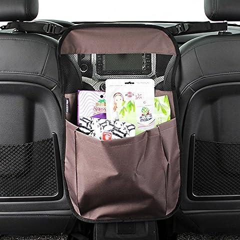 garder sur le dessus de luxe de voiture entre les sièges à suspendre Organiseur de voyage Sac de rangement
