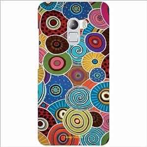 Design Worlds Back Cover Lenovo K4 Note - Phone Cover Multicolor