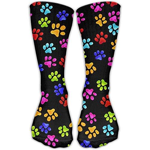 e297635d80 Pink White Cute Alpacas Fashion Long Socks Comfortable Warmer Stockings 1  Pair For Women   Men