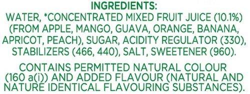Tropicana Mixed Fruit Delight Fruit Juice, 200ml