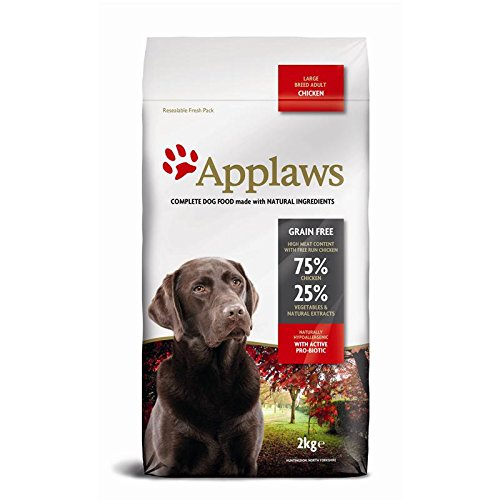 Applaws Comida seca de perros, pollo, adultos de raza pequeñas y mediana, 15 kg