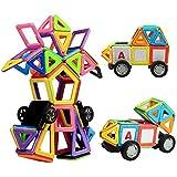 Magnetische Bausteine, Innoo Tech größe Bauklötze, Inspirierender Standard Bausatz, 2rd Generation, Konstruktionsbausteine Magnetspielzeug, populäres pädagogisches Lernspiel, Tolles Geschenke für Baby Kleinkinder ab 3 Jahre