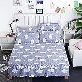 Se utiliza para cama Individual cubierta cama Falda cama de Una Sola pieza engrosamiento lijadora de planta 1.5/1.8m2m 180x200cm