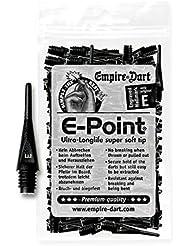 100 EMPIRE E-Point Puntas de Dardos 2 BA corto (negro)