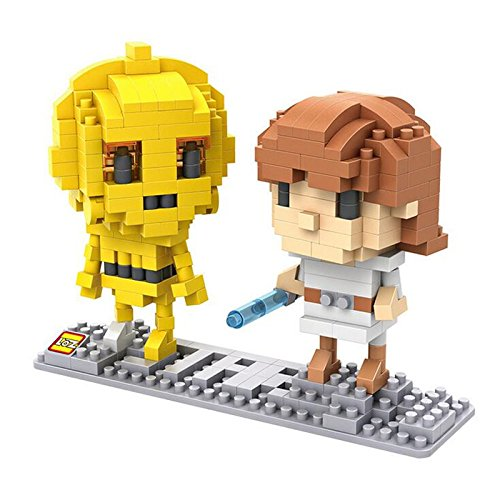 Micro-Block-Star-Wars-C3P0-Luke-Skywalker