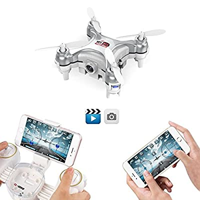 Mini drone cheerson cx-10wd-tx drone with camera 2.4g 6 axis