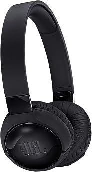 JBL Tune 600Bt On Ear Bluetooth Headset, Black - JBLt600Btncblk