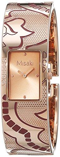 Misaki QCRWELISALARGE - Orologio da polso Da Donna, Acciaio inossidabile,...