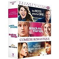 Coffret comédie romantique 3 films : les mots pour lui dire ; broadway therapy ; une famille très moderne