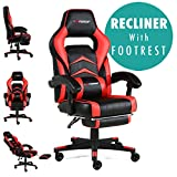 GTFORCE Turbo Reclining Sports Racing Gaming Office Desk PC CAR Faux Leather Chair