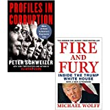 Profiles in Corruption [Hardcover] & Fire and Fury 2 Books Collection Set