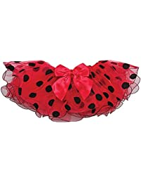 Reflectionz Red Polka Dot Tutu Dance Skirt Little Girl 2-6