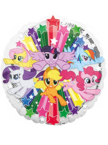 Amscan International 3490201 My Little Pony Gang Folienballon (Pony-party-spiele Little My)