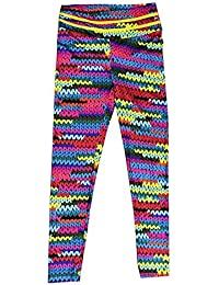 4002ba3bca5 WOZOW Femmes Taille Haute Yoga Fitness Leggings Running Gym Stretch  Pantalons de Sport Pantalons