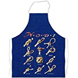 tablier de cuisine knot gallery /navy