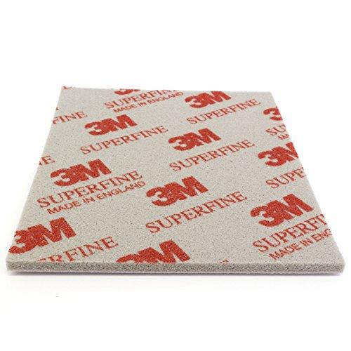 Preisvergleich Produktbild 3M Soft Pad Schleifpad Schleifschwamm 1 Stück 03810 superfine superfein P400-P500 Korn 200