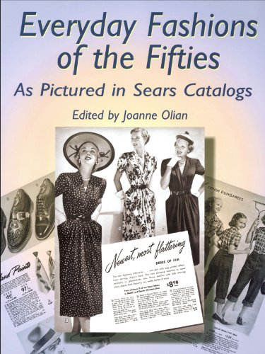 the Fifties As Pictured in Sears Catalogs (Dover Fashion and Costumes) (Kostüm 20th Century)