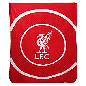 Liverpool FC Bullseye Fleece Blanket from Forever Collectibles