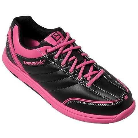 Damen Bowlingschuhe Brunswick Diamond black/hot pink (41)