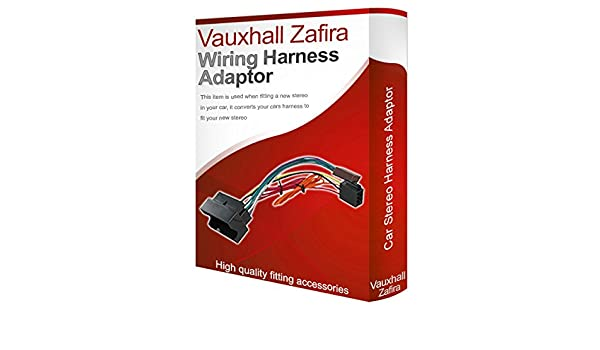 vauxhall zafira cd radio stereo wiring harness adapter amazon co vauxhall zafira cd radio stereo wiring harness adapter amazon co uk electronics