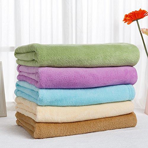 BDUK Coral Decke Kinder Kind kleine Decke Mittagspause Mittagessen für die Decken aus dem Büro des Schlafsofas Decken und Knie Decke
