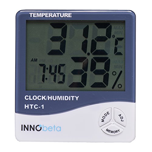 InnoBeta Thermometer Hygrometer Uhr