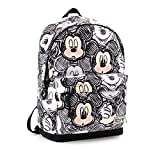 Karactermania Disney Classic Mickey Oh Boy-HS Backpack Rucksack, 44 cm, 23 liters, Schwarz (Black)