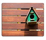 Liili Mauspad Naturkautschuk Mousepad Colorful Vogelhaus Bild-ID 22982684