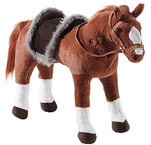 Heunec 720176 - Pferd stehend, 80cm, 100kg Tragkraft