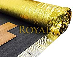 Sonic Gold 30sqm Sonic Gold Laminate Wood Flooring Underlay 5mm Thick by Laminate Underl