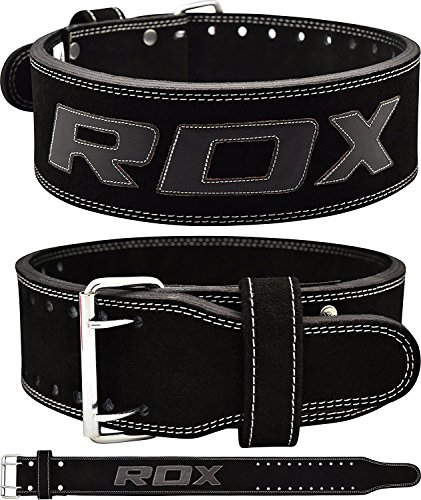 RDX-Weight-Lifting-Belt-Cow-Hide-Leather-Gym-Training-Nubuck-Power-lifting-Back-Support-Fitness-Bodybuilding
