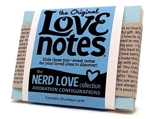 Original Love Notes-Nerd Love Collection-Sweet Little handwritten-style Karten um Ihre Besondere Menschen, wie sie sich fühlen