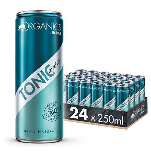 Organics by Red Bull Tonic Water 24 x 250 ml Dosen Bio Getränke 24er Palette