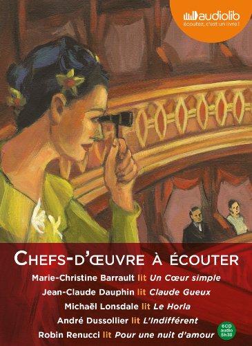 Coffret Chefs d'oeuvre classiques  couter: Coffret 6 CD AUDIO - 5 h 30