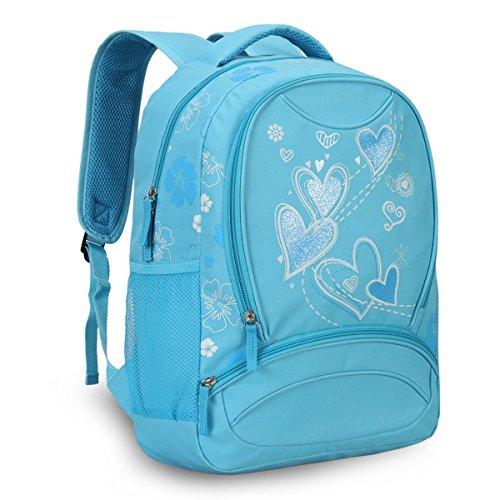 Imagen de veevan  con dulce corazón para niños escolares azul  alternativa