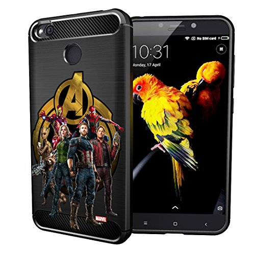 MTT Avengers Infinity War Officially Licensed Armor Back Case Cover for Xiaomi Redmi 4 (Design 265)