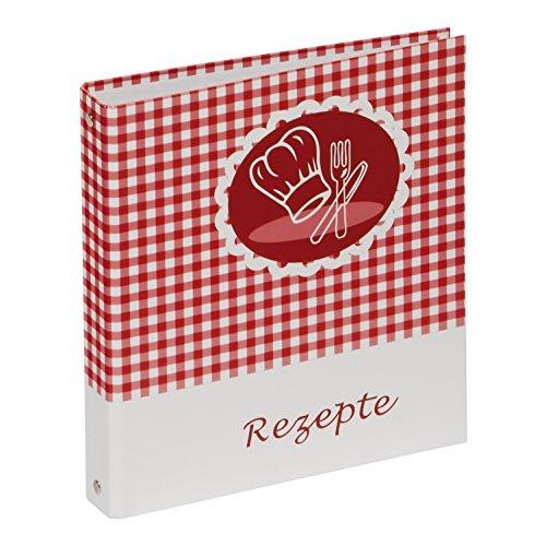 ütze (Kochbuch zum Selberschreiben, A5, 4-Ring) rot-weiß ()