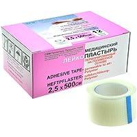 SFM Heftpflaster Polymer Polyethylen mit Plastikkern in Box, 2.5cm x 5m, (12St.) preisvergleich bei billige-tabletten.eu