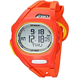 Asics CQAR0107 - Reloj de pulsera para hombre, naranja