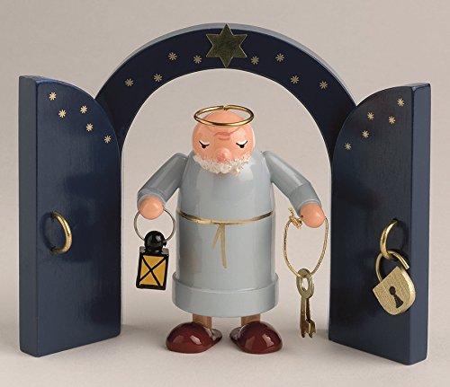 Engel Petrus 7 cm ohne Himmmelstor NEU Holzengel Deko Figur Erzgebirge