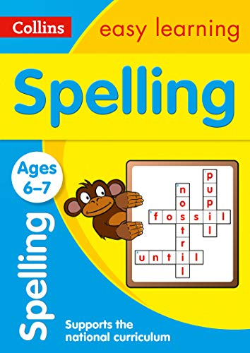 Spelling Ages 6-7: New Edition: easy spelling activities for year 2 (Collins Easy Learning KS1)
