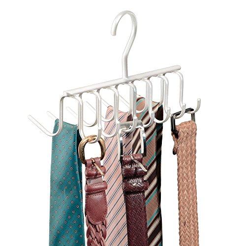 mdesign percha para collares ideal como organizador de pauelos o colgador de cinturones mantenga