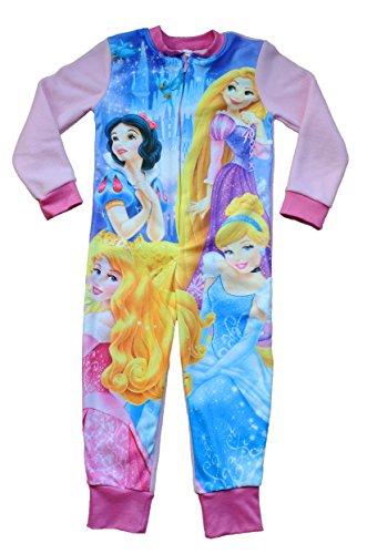 Disney Princess Onesie 3 to 7 Years Disney Princess Sleepsuit